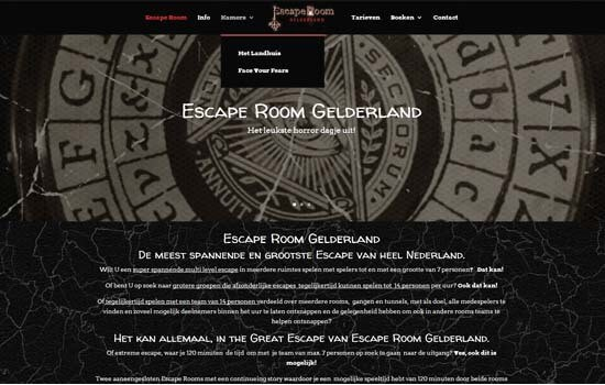 Escape-Room-Gelderland-vernieuwde-website