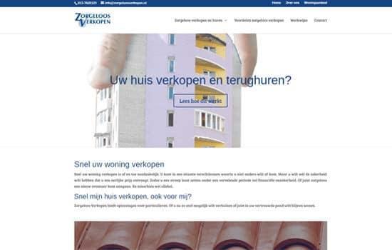 Zorgeloos-verkopen-webdesign-website